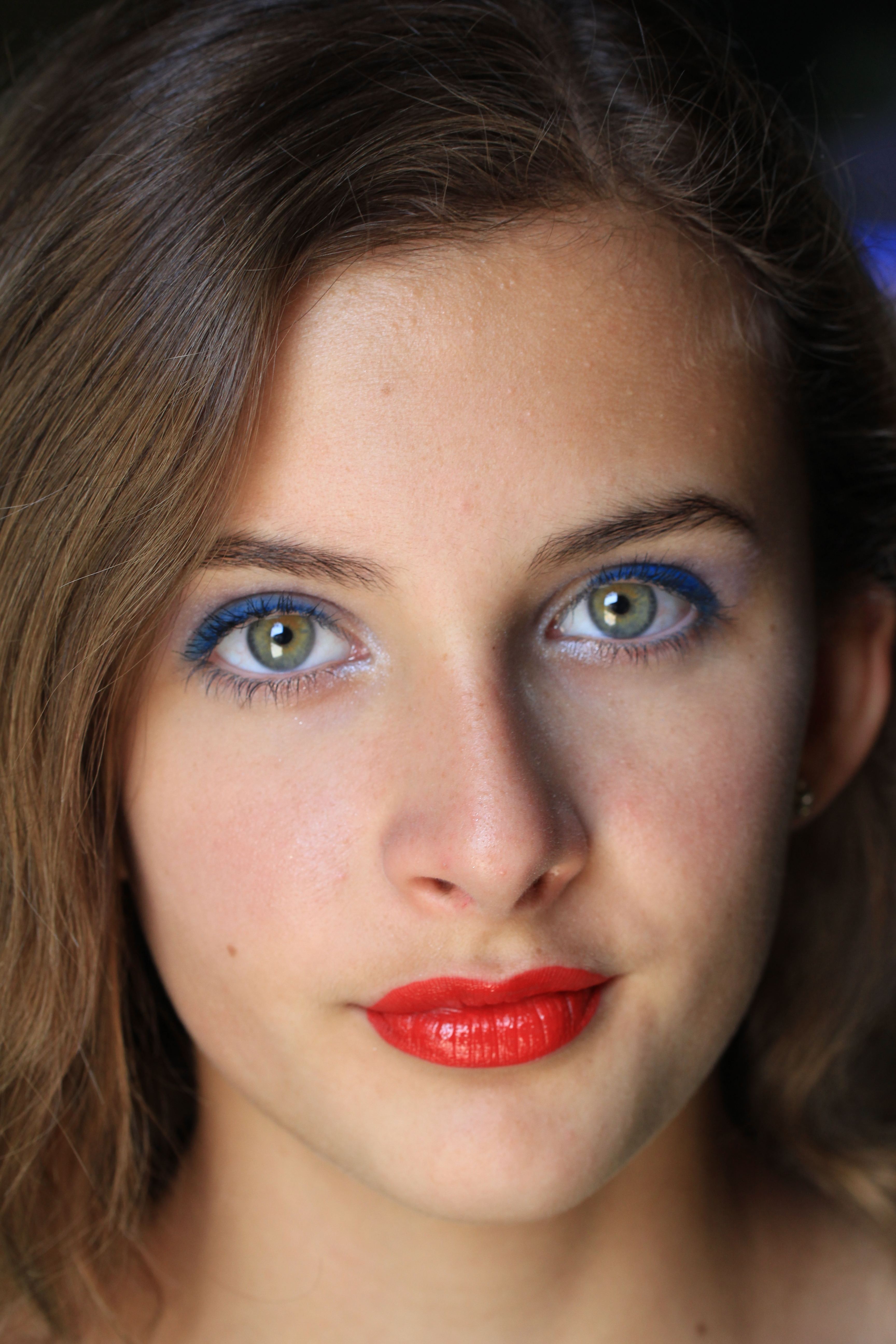 Quick And Easy Ocean Blue Eyes Makeup Crazy