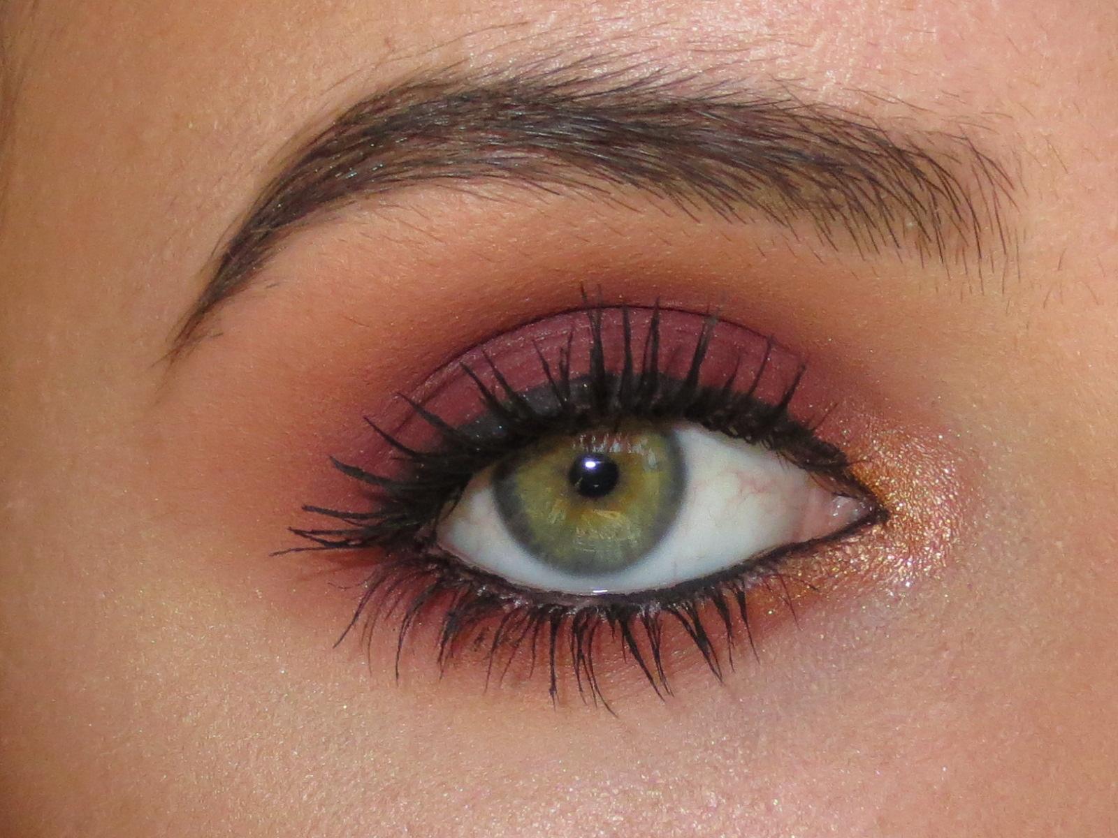 Lotd Fall Red Smokey Eyes Makeup Crazy